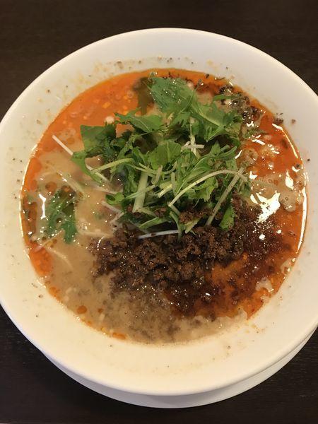 「担担麺+大盛(¥1040)」@四川担担麺 阿吽 湯島店の写真