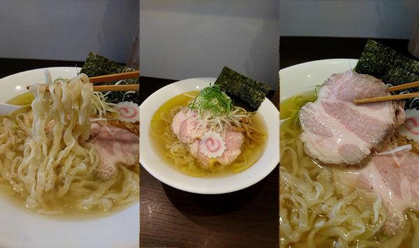 「夏季限定『冷やしラーメン(¥850)』を塩&中盛で…」@麺や 河野の写真