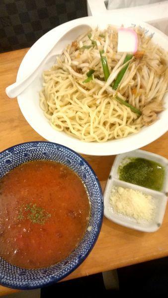 「冷やしトマトもりタンメン   950円」@極濃湯麺 フタツメ 貝沢店の写真