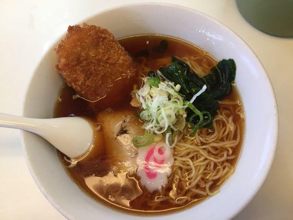 「コロッケラーメン¥610」@東武ラーメンの写真
