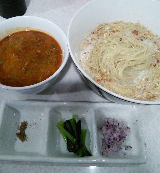 「【限定】担々つけ麺 1150円」@ラーメン星印の写真