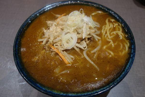 「【限定】カレー味噌ラーメン」@麺匠 玄龍 ララガーデン長町店の写真