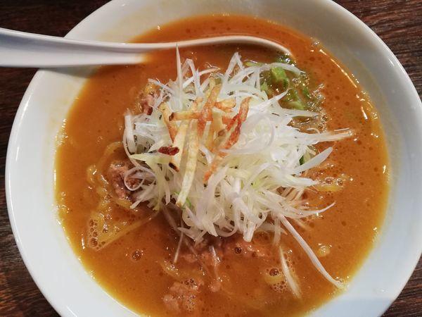 「具なしらーめん味噌」@麺屋 雪風 すすきの本店の写真