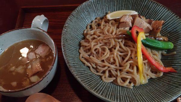 「つけ麺+チャーシュー」@つけめん らーめん 山の写真