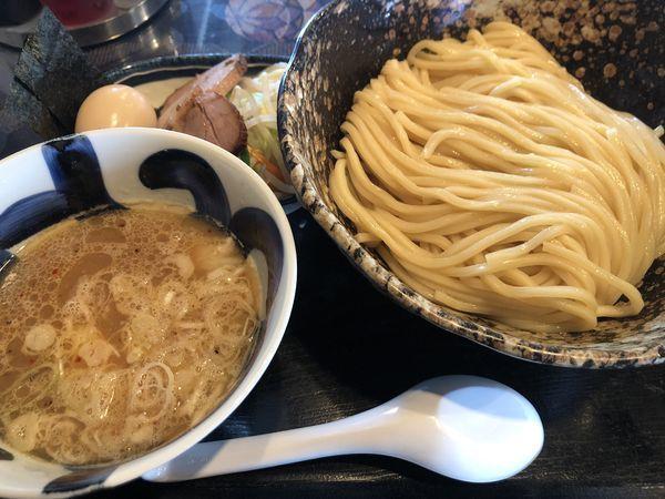 「マル得つけめん(大盛)」@三ツ矢堂製麺 深谷花園店の写真