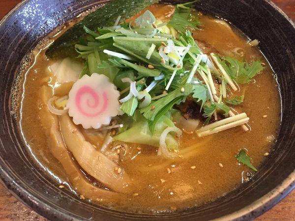 「極!海老出汁ラーメン:750円」@ラーメン厨房つきまるの写真