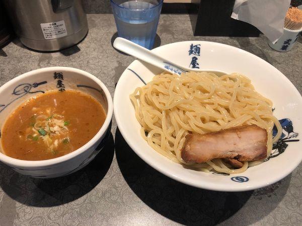 「濃厚角煮つけ麺 中盛 900円」@麺屋武蔵 蒲田店の写真