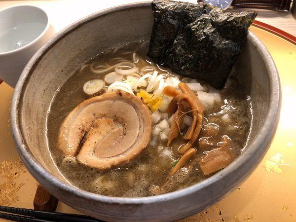 「濃厚煮干しそば(醤油)」@麺屋 音 柏店の写真