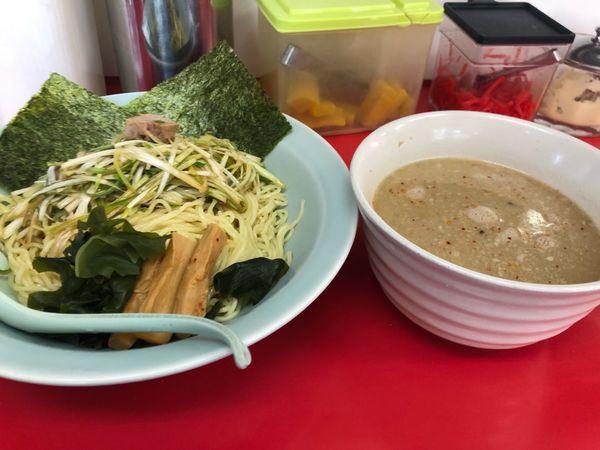 「ネギつけ麺」@ラーメンショップ 卒島店の写真