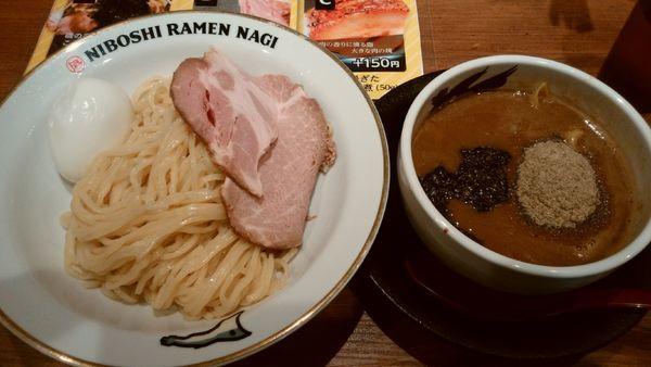 「味玉濃厚煮干しつけ麺¥1020-」@NIBOSHI TSUKEMEN 凪 大宮南銀通り店の写真