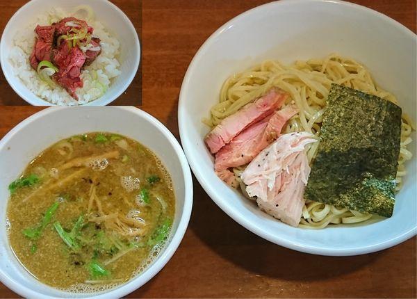 「つけ麺(正油)¥750」@自家製麺ラーメンKの写真