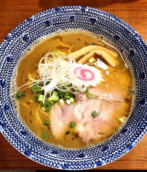 「魚介とんこつラーメン」@麺屋わおんの写真