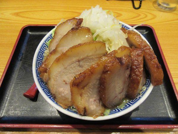 「角ふじブタブタそば(1430円)」@つくば麺屋こうじの写真