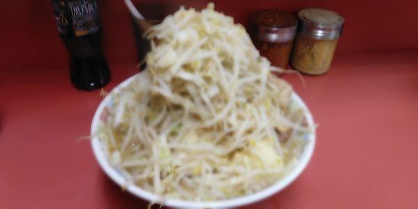 「大豚ラーメン980円」@ラーメン二郎 ひばりヶ丘駅前店の写真