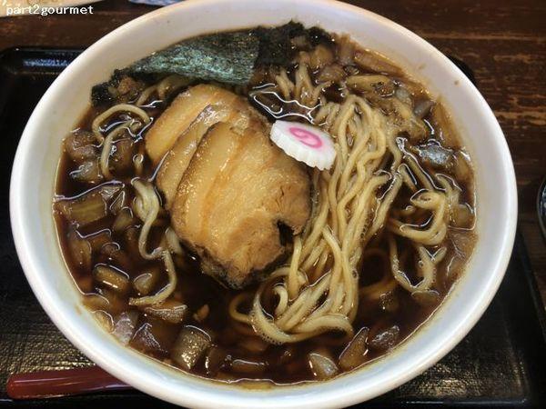 「竹岡式ラーメン 玉ねぎ (850円)税別」@麺家 一徹 本店の写真
