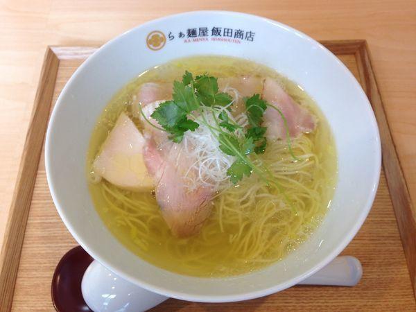 「塩らぁ麺」@らぁ麺 飯田商店の写真