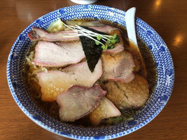 「チャーシューワンタン麺 + 大盛」@白河手打ち中華 孫市の写真