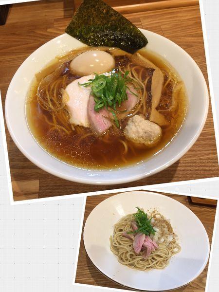 「味玉地鶏(醤油)+和え玉」@自家製麺 純の写真