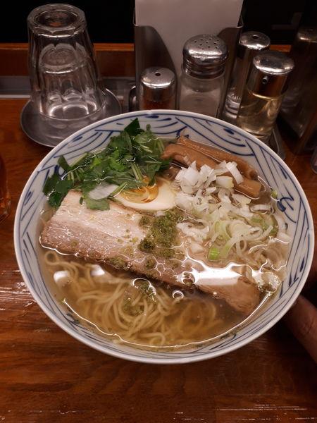 「和風柚子拉麺730円」@麺屋ひょっとこの写真