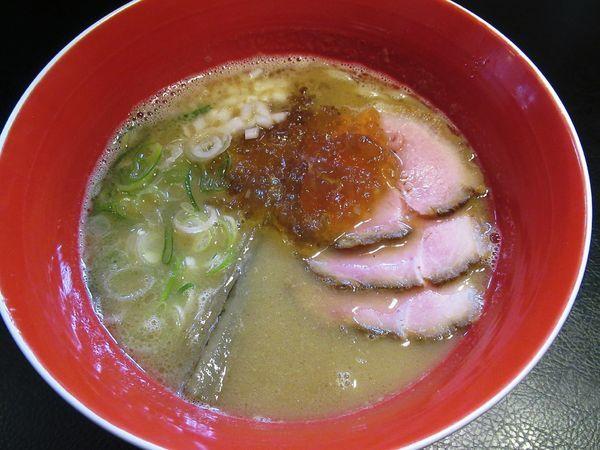 「魚介豚骨醤油(850円)」@men-eiji HIRAGISHI BASEの写真