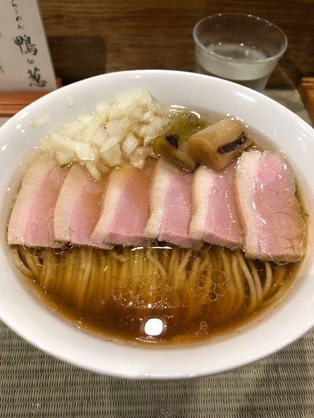 「鴨コンフィ麺」@らーめん 鴨to葱の写真