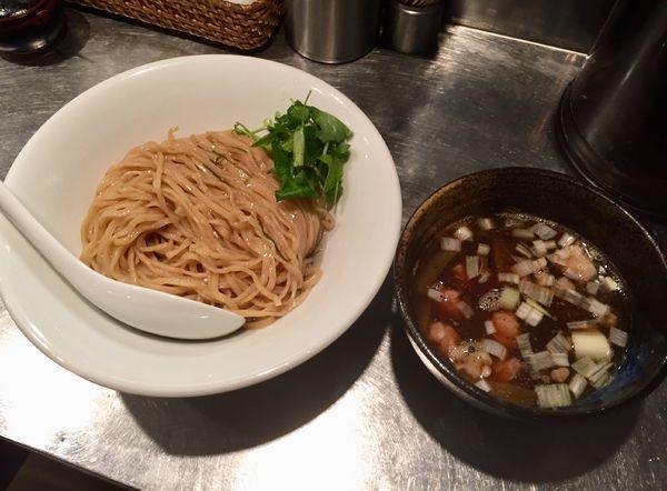 「鴨つけ蕎麦」@日の丸さんじの写真
