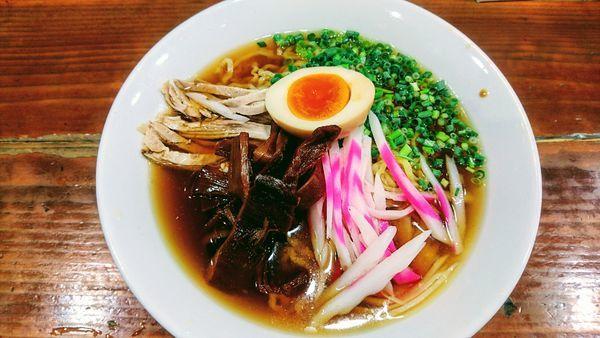 「【限定】冷たい煮干しラーメン」@長尾中華そば 東京神田店の写真