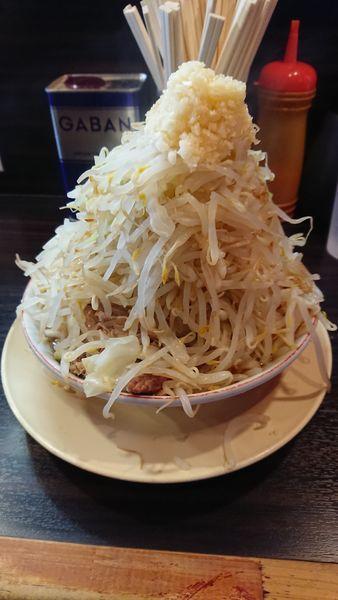 「小豚 野菜ネギマシマシ  油、ニンニク少なめ?」@大盛軒の写真