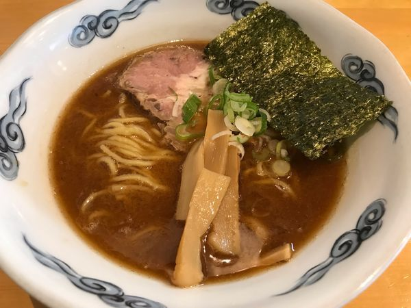 「らーめん  600円」@麺屋 史の写真