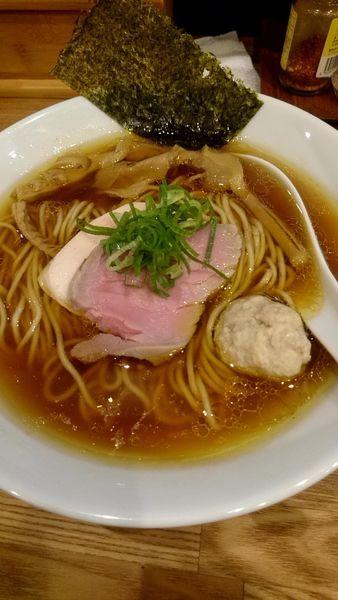 「地鶏醤油」@自家製麺 純の写真