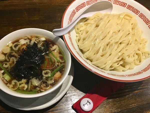「生姜醤油つけめん」@新潟長岡らぁめん 安ざわ食堂の写真