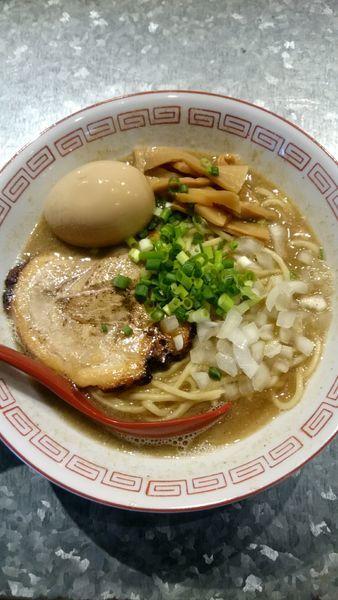 「煮干しそば   800円」@らーめんキッチン かえでの写真