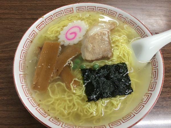 「塩ラーメン¥650」@多万里食堂の写真