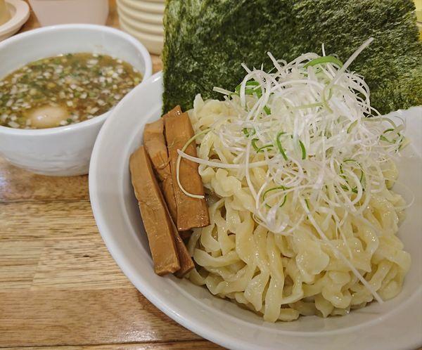 「塩つけ麺+味玉+のり(1000円)」@麺屋 つるるの写真