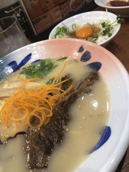 「亀王ラーメン」@九州らーめん 亀王 森ノ宮店の写真