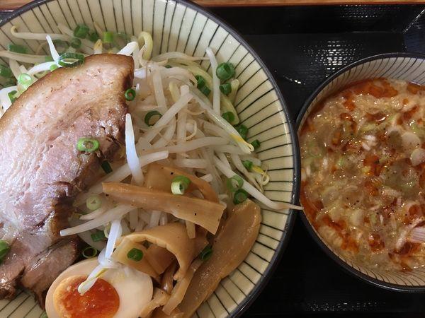 「スーラーつけ麺(中) 750円」@優勝軒 日立店の写真
