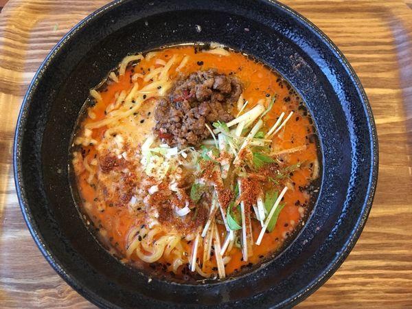 「担々麺 3辛」@Chinese Dining 胡食 ~kokuu~の写真