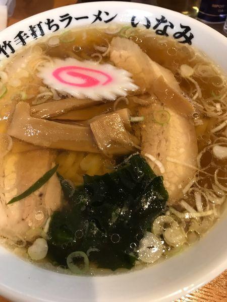 「ラーメン650円」@青竹手打ちラーメン いなみの写真