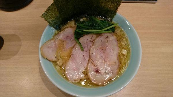 「家系らぁ麺_800円」@麺屋 庄太 赤坂店の写真