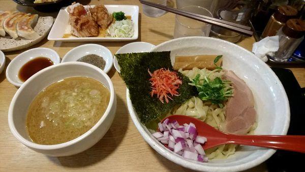 「海老とあさりの鶏白湯つけ麺」@二代目 村岡屋の写真