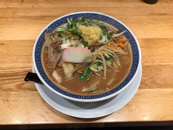 「味噌タンメン」@小田原タンメン 総本店の写真