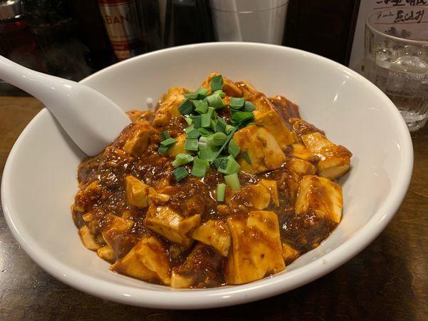 「汁なしマーボ麺」@濃厚担々麺・らーめんつけめん 仁の写真
