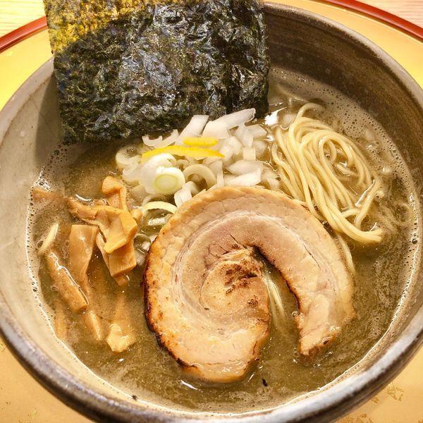 「濃厚煮干しそば820円」@麺屋 音 柏店の写真