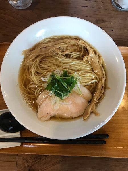 「淡麗煮干ラーメン 780円」@ラーメン 健やかの写真