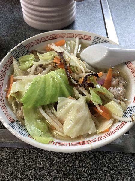 「ちゃんぽん」@大学食堂の写真