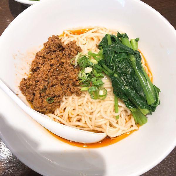 「成都式汁なし担々麺」@六坊担担面の写真