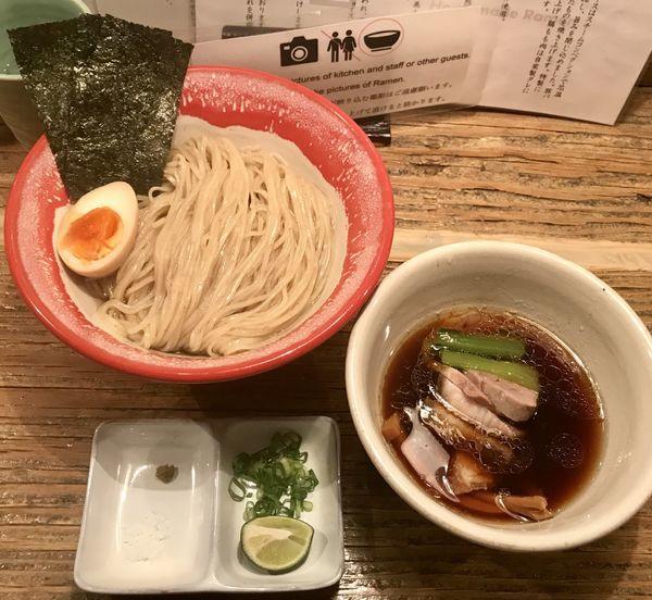 「【限定】醤油つけ麺」@Homemade Ramen 麦苗の写真
