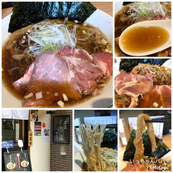 「山形名物 冷やし葱らぁ麺 1000円」@初代葱寅 御茶ノ水店の写真