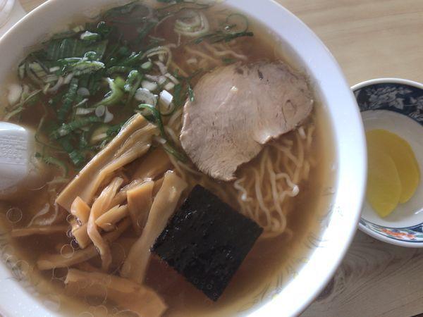 「中華そば550円」@食事処 吉野家の写真