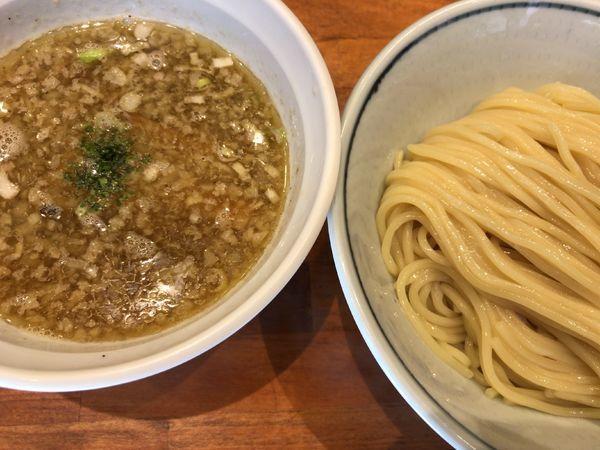 「塩つけ麺」@めいげんその写真